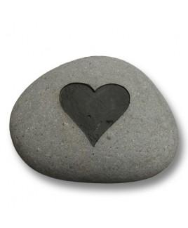 Hart steen groot