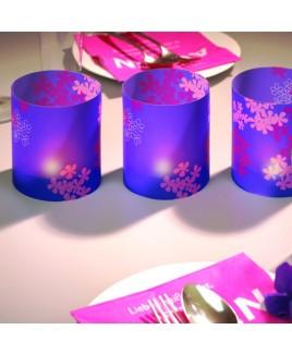 Lantaarn Flower paars