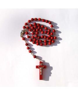 Rode rozenkrans