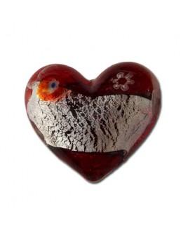 Barock hart, rood.