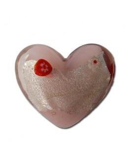 Barok hart, roze