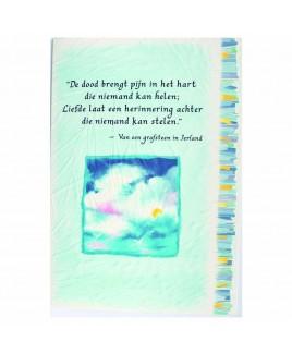 rouwkaart liefde herinnering