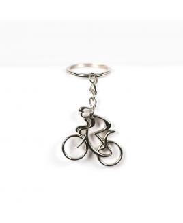 Sleutelhanger fiets met persoon