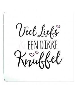 Dikke knuffel - Happy - Wenskaart
