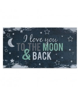Love you to the moon - Happy - Wenskaart