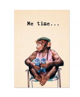 Postkaart Me time