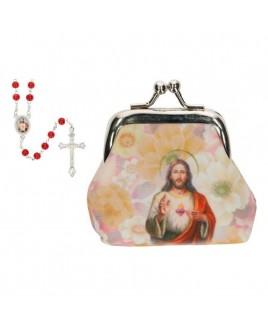 Rozenkrans knipbuideltje Heilige Hart