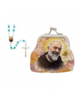 Rozenkrans knipbuideltje Pater Pio