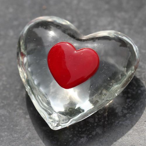 Glas hart